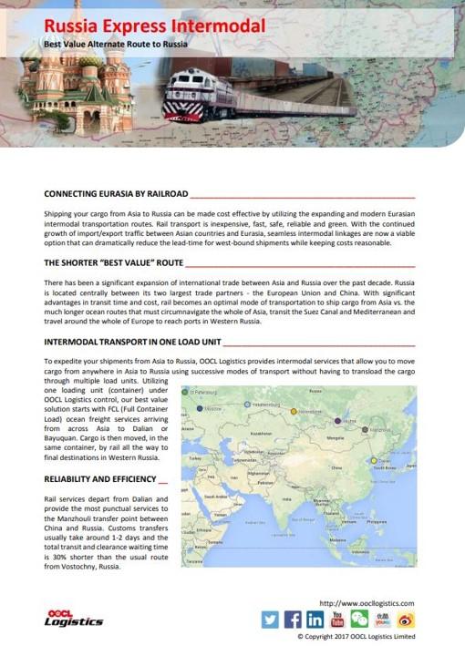 Russia Express Intermodal